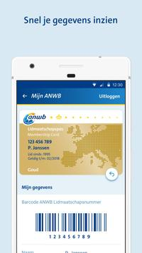 ANWB Wegenwacht Pechhulp app screenshot 4