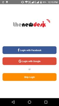 The New Desk - Nepali Job Search poster