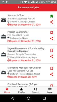 The New Desk - Nepali Job Search screenshot 1