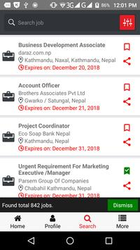 The New Desk - Nepali Job Search screenshot 2