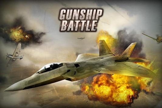 GUNSHIP BATTLE poster