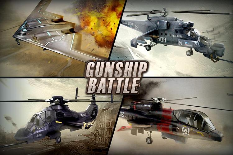 Sedang Viral, GUNSHIP BATTLE  - APK Download Game Android Terbaru