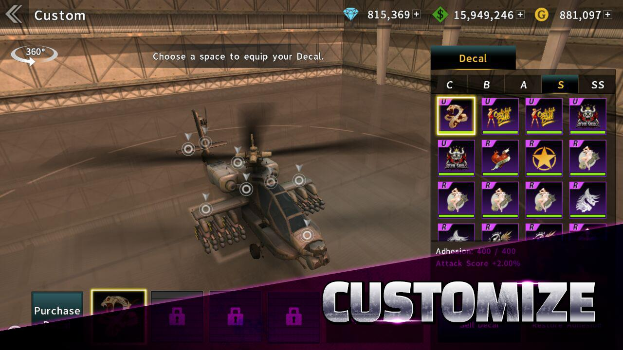 GUNSHIP BATTLE for Android - APK Download