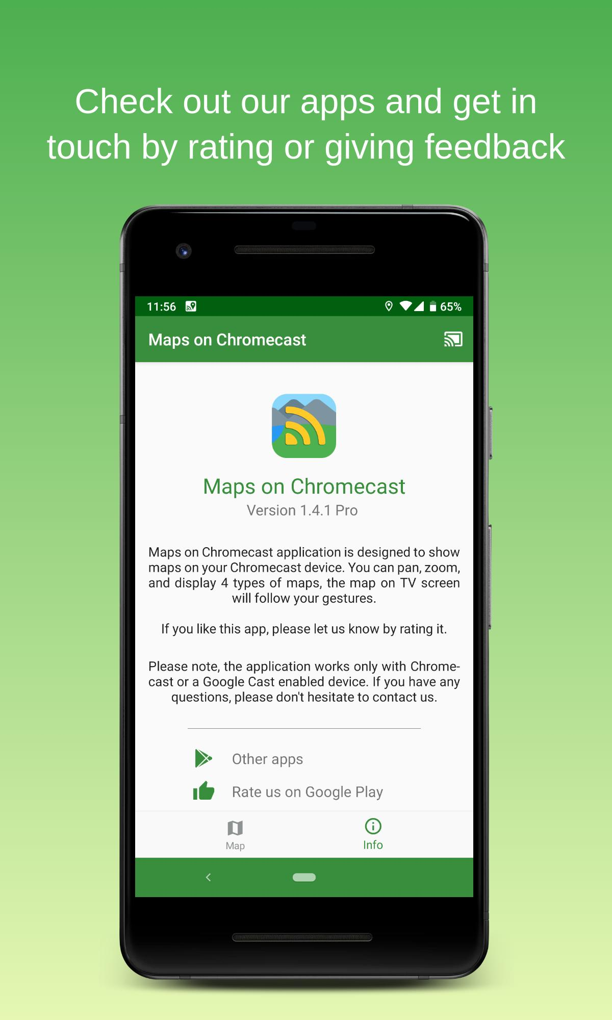 Maps on Chromecast for Android - APK Download