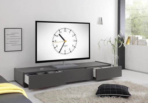 Часы на Chromecast   ⏰ Виджет часов для ТВ постер
