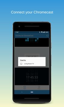 Часы на Chromecast   ⏰ Виджет часов для ТВ скриншот 2