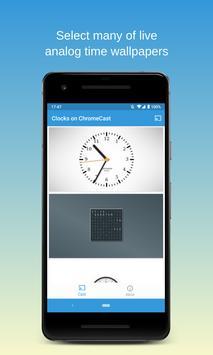 Часы на Chromecast   ⏰ Виджет часов для ТВ скриншот 3