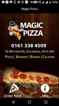 Magic Pizza, Stalybridge poster