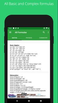 All Formulas screenshot 2