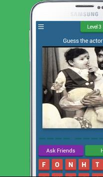 Childhood photos of Bollywood stars-Photo Quiz poster