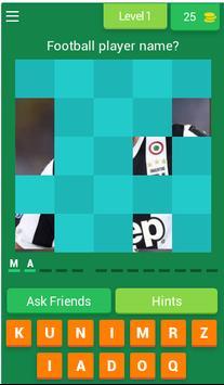 Football Quiz poster
