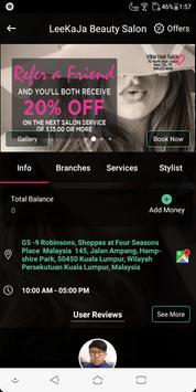 iSalon4u screenshot 3