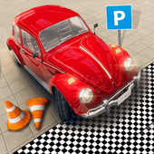 Foxi Mini Advance Car Parking : Car School Driving icon