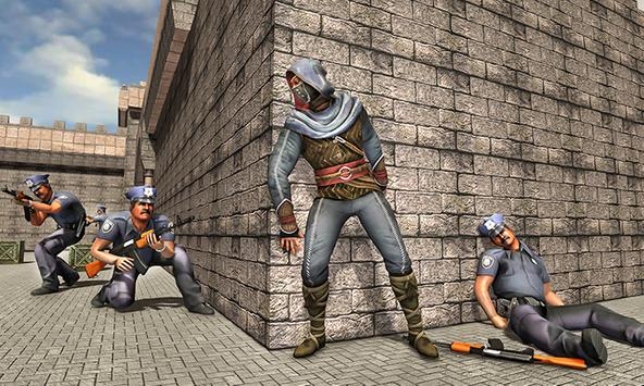 Ninja Prison Escape Shadow Saga Survival Mission screenshot 3