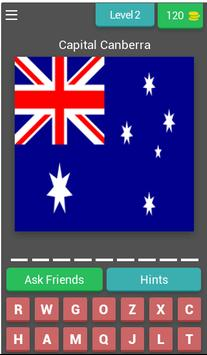 Guess The Flag With Capitals screenshot 2
