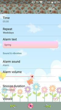 Hello Spring | Xperia™ Theme (sun, rain, clouds) screenshot 7