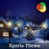 New Years holidays   Live Wallpaper   Xperia Theme icon