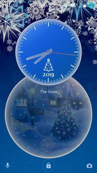 New Years holidays   Live Wallpaper   Xperia Theme screenshot 2