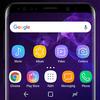 Galaxy S9 purple Theme Xperia™ ícone