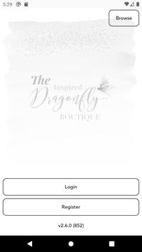 Poster Inspired Dragonfly Boutique