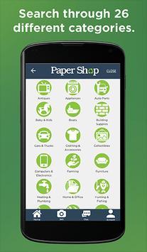 Paper Shop screenshot 1