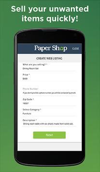 Paper Shop screenshot 2