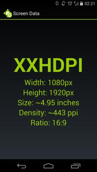 Screen Size and Density poster