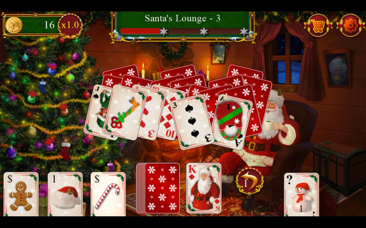 Santa's Christmas Solitaire TriPeaks for Android - APK Download