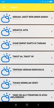 Kumpulan Puisi dan Syair Sastra Indonesia 1000+ screenshot 2