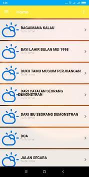 Kumpulan Puisi dan Syair Sastra Indonesia 1000+ screenshot 4