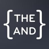 {THE AND} आइकन