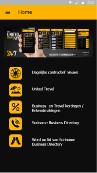 United Business App poster