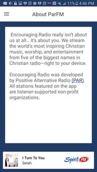 Encouraging Radio screenshot 2