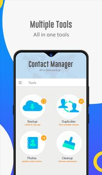 Contact manager: Backup, sync, restore & merge screenshot 11