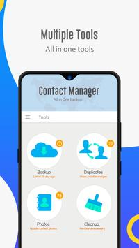 Contact manager: Backup, sync, restore & merge screenshot 6