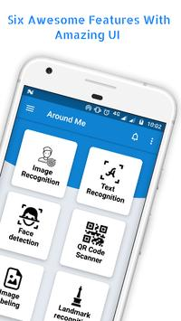 Around Me - Text, QR, Barcode, Image Recognition poster