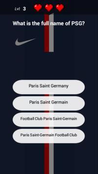 PSG Quiz screenshot 1