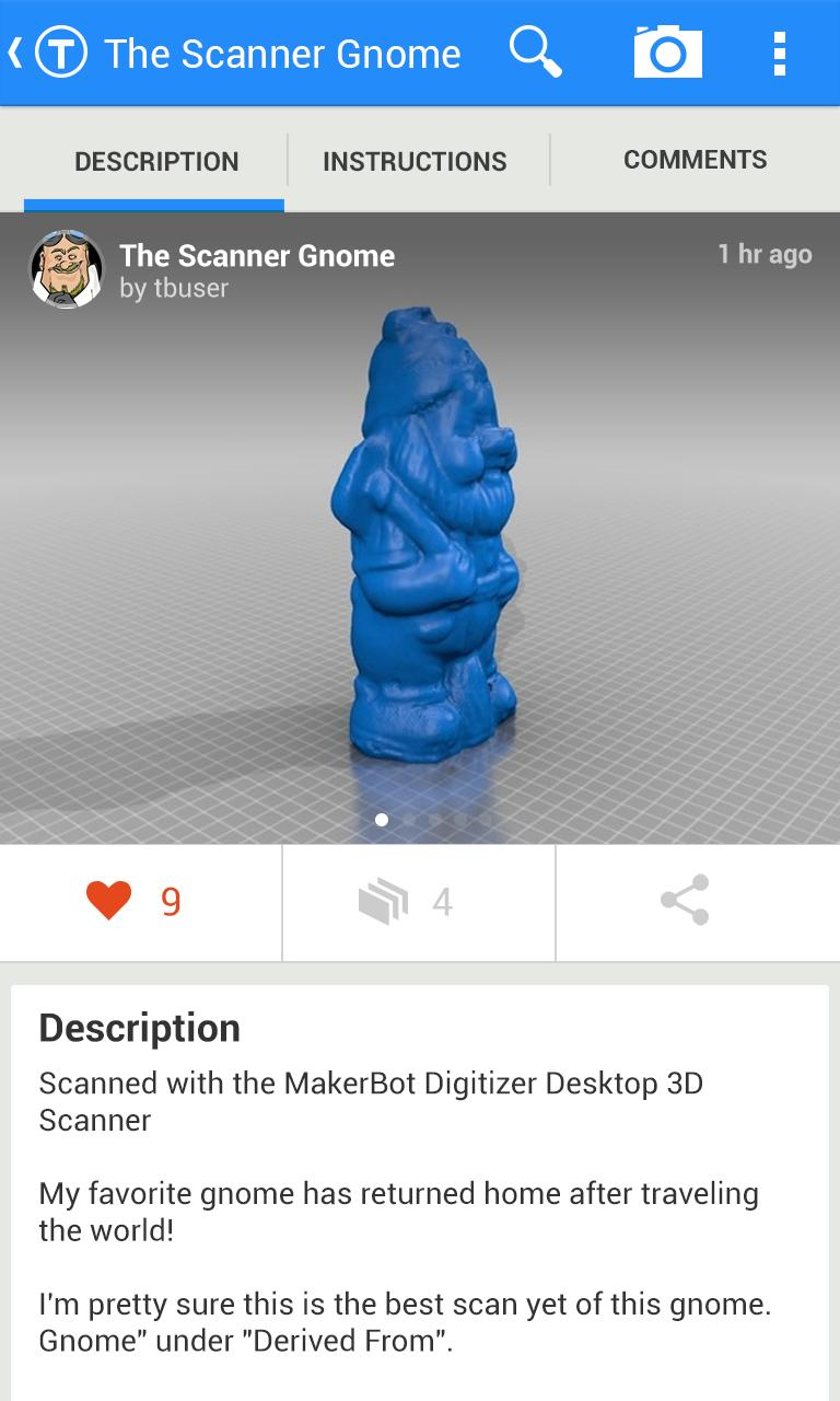 Thingiverse for Android - APK Download
