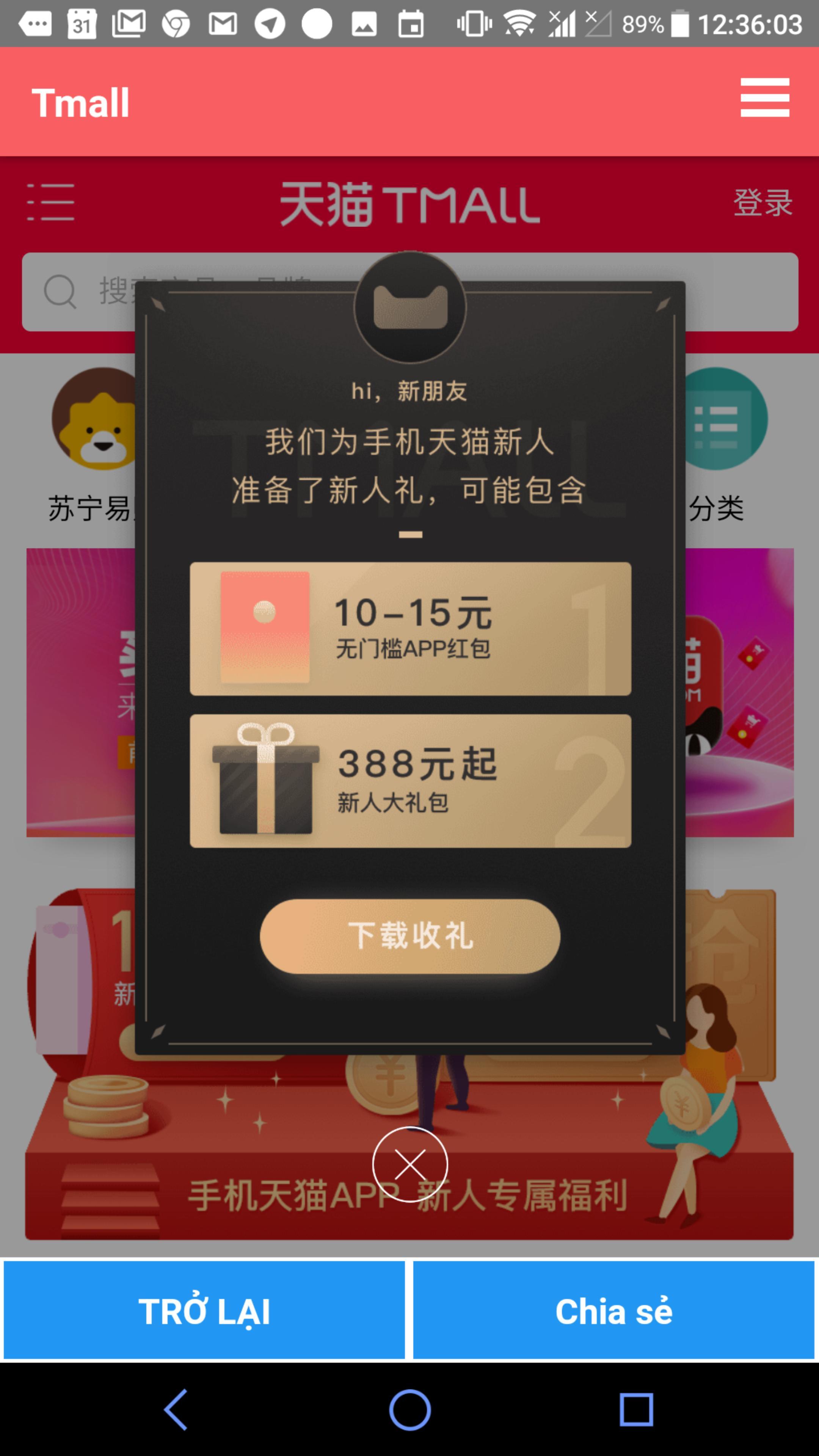Báo giá đặt hàng từ Taobao, 1688, Tmall for Android - APK