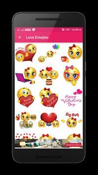 Kiss Me Love Stickers screenshot 4