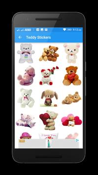 Teddy Love Stickers & Emoticons ♥♥ screenshot 1