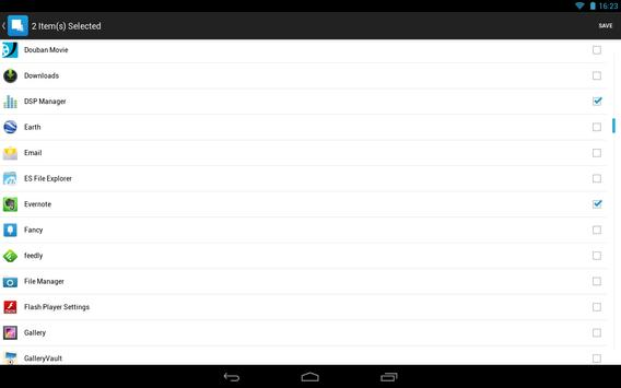 Hide App-Hide Application Icon تصوير الشاشة 7