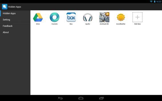Hide App-Hide Application Icon تصوير الشاشة 6