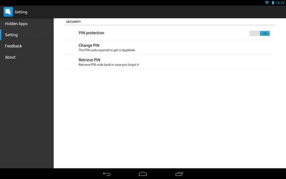 Hide App-Hide Application Icon تصوير الشاشة 8