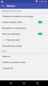 Verrouillage SMS capture d'écran 2