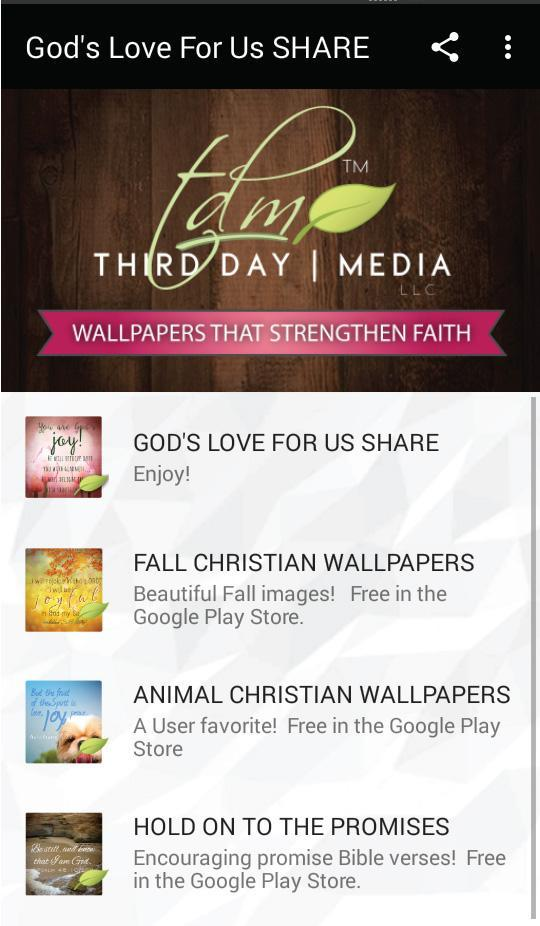 Gods Love Christian Wallpapers For Android Apk Download