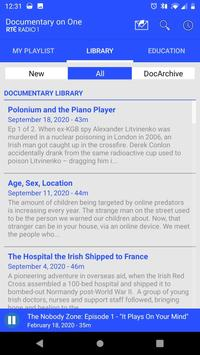 RTÉ Radio Documentary on One скриншот 2