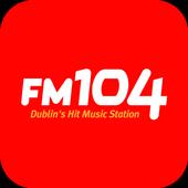 Dublin's FM104 icon