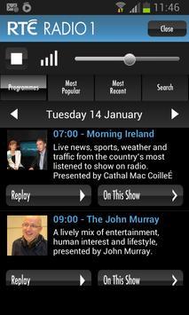 RTÉ Radio poster