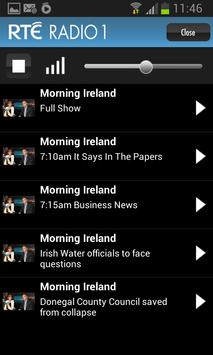 RTÉ Radio screenshot 1